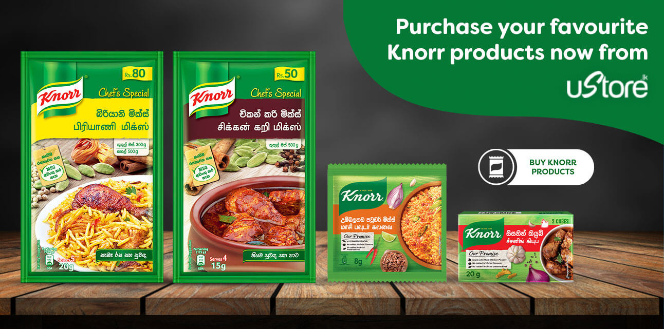 Knorr Sri Lanka | Easy to Cook Flavorful Sri Lankan Recipes by Knorr - Knorr Rasai